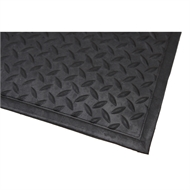 Bayliss 80 x 120mm Black Checker Plate Commercial Mat