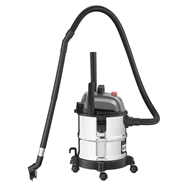 Ozito 1250W 20L Stainless Wet And Dry Vacuum