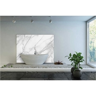 Bellessi 1220 x 2000 x 4mm Motiv Polymer Bathroom Panel - Grecian Marble
