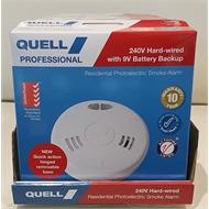 Quell 240V Photoelectric Smoke Alarm Trade Pk