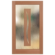 Hume 2040 x 1200 x 40mm Illusion Entry Door