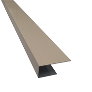 Suntuf 300 x 45 x 20mm Classic Cream Back Channel Frame