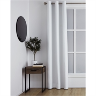 Windoware 1200 x 2230mm Barcelona White Blockout Eyelet Curtain
