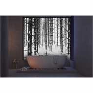 Bellessi 300 x 1200 x 4mm Motiv Polymer Bathroom Panel - Winter Forest