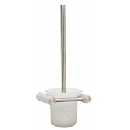 Enzo Barelli Milano Stainless Steel Toilet Brush And Holder