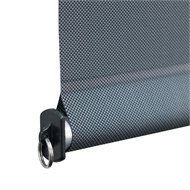 Coolaroo 1.8 x 2.4m Gun Metal Easy Release Outdoor Roller Blind