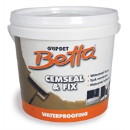 Gripset Betta 4kg Cemseal And Fix Waterproofing Membrane