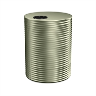 Kingspan 8000L Round Steel Water Tank - 2400mm x 1860mm Pale Eucalypt
