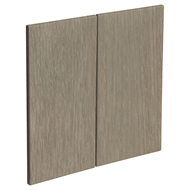 Kaboodle 600mm Urban Oak Rangehood Cabinet Doors - 2 Pack