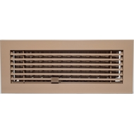Accord 100 x 300mm Biege Aluminium Bar Floor Grille