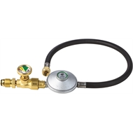 BBQ Buddy Gas Safety Shut-Off Valve with Hose and Regulator