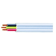 Olex 1mm Two Core and Earth Flat Electrical Cable - Per Metre