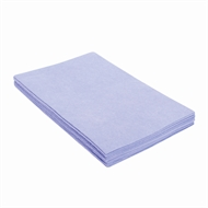 Sabco Professional 30 x 40cm Blue Heavy Duty Cleaning Cloth - 10 Pack