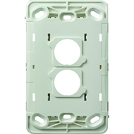 HPM VIVO 2 Gang Wall Switch - Grid Only