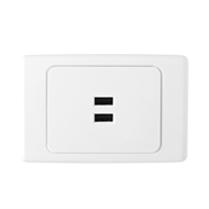 powerpoints light switches plugs fuses at bunnings warehouse deta usb charge powerpoint wall plate