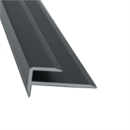 Roberts 3.3m Plank Stair Nose - 10 Pack - Black