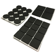 Surface Gard Black Assorted Eva Pads - 56 Pack
