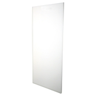 Multistore 2010 x 910mm White Melamine Ultra Glide Sliding Wardrobe Door