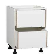 Kaboodle 600mm 2 Drawer Base Cabinet