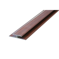 Roberts 1.65m x 8mm Mid-Dark Expansion Joint Timbertone Floating Floor Trim