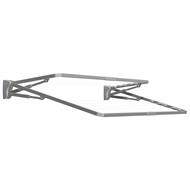TopDry 23m Slate Double Folding Clothesline