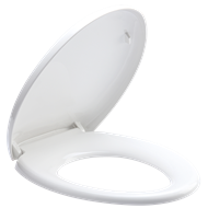 Estilo White Soft Close Seat Toilet