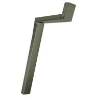 COLORBOND 100 x 50mm Adjustable Downpipe Offset - Mangrove