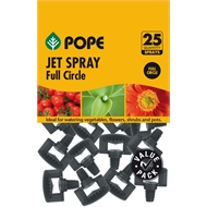 Pope Micro Full Circle Jet Spray - 25 Pack