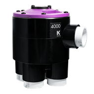 K-Rain 4000 Series 25mm Cammed For 4 Zone Operation (RCW) 4 Outlet Indexing Valve