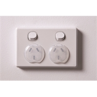 Dreambaby Child Safety Power Outlet Plug - 12 Pack
