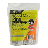 Whites Outdoor 3 x 150mm Weedmat Pin - 100 Pack