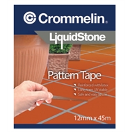 Crommelin 12mm x 45m LiquidStone Pattern Tape