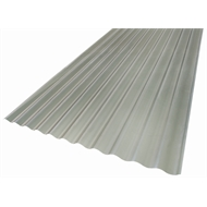 Suntuf Solar Grey 860 x 17mm x 4.8m Corrugated Polycarbonate Sheet