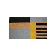 Madras Link 45 x 75cm Vinyl Backed Stripes Outdoor Mat