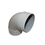 Holman 100mm 88° F-F PVC DWV Plain Bend