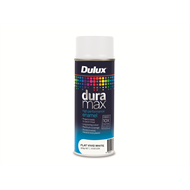 Dulux Duramax 340g Flat White Spray Paint