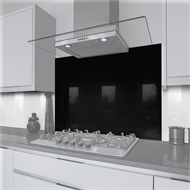 Vistelle 700 x 745 x 6mm Glass Splashback Eclipse