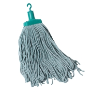 Sabco 400g Green Cotton Professional Mop Head Refill