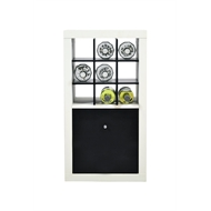 Flexi Storage 330 x 330 x 270mm Black Wine Rack Clever Cube Insert