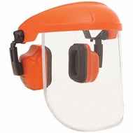 Protector Earmuff And Full Face Visor Safety Kit