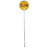 Bastion 450mm Stop / Slow Traffic Safety Sign