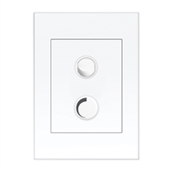 HPM VIVO 250W Trailing Edge Controller Dimmer - White