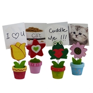 Boyle Photo/Note Clip Mini Pot Set of 4