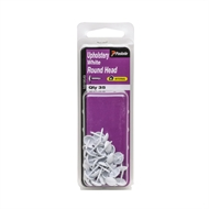 Paslode White Round Head Upholstery Nails - 35 Pack