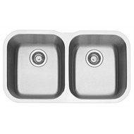 Blanco 80cm Undermount Double Bowl Sink