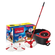 Vileda Easy Wring And Clean Turbo Mop With 2 Refills