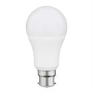 Click 10W 806lm A60 BC LED A Shape Globe Warm White