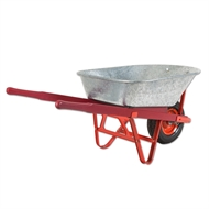 Daytek 100L Galvanised Tradesman Wheelbarrow