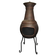 Chapala Small Cast Iron Chimenea