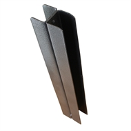Ridgi Plus 50mm x 50mm x 3mm x 0.9m Powder Coated Steel Joiner Post